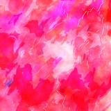 Pretty Pink Digital Watercolor Ink Paper Background