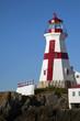 Head Harbor Lighthouse Tower on Campobello Island