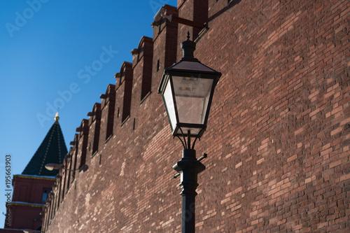Aluminium Moskou Red Moscow Kremlin wall