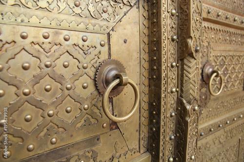 Foto Murales Metal door in India