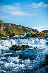 Small Icelandic Waterfall