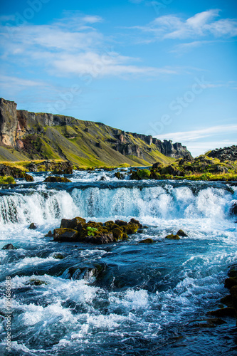 Small Icelandic Waterfall
