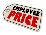 Employee Price Special Worker Discount Sale Amount - 195697123