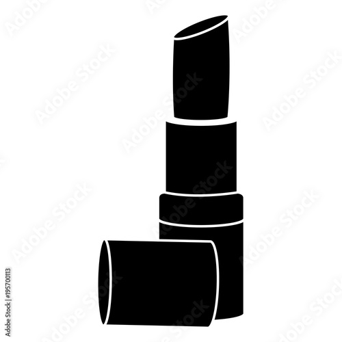 lipstick makeup isolated icon vector illustration design