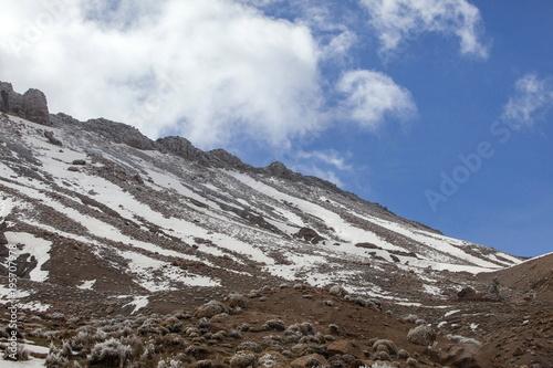 In de dag Marokko アトラス山脈