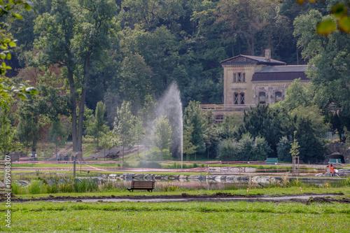 Staande foto Praag Königlicher Wildpark Baumgarten (Královská Obora Stromovka) in Prag, Tschechische Republik