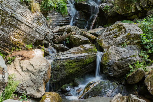 stone waterfall - 195714940
