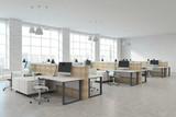 Modern coworking office - 195719968