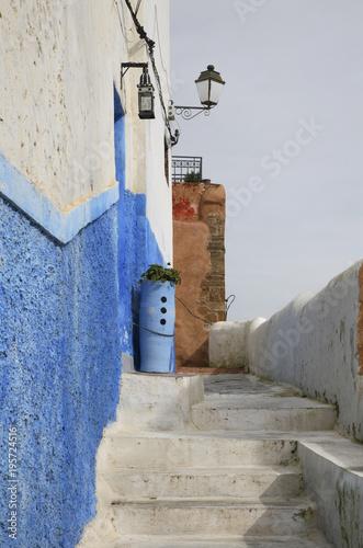 In de dag Marokko Kasbah of the Udayas in Rabat. Morocco