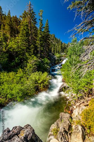 Eagle Falls at Lake Tahoe - California, USA - 195732771