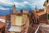 Cozy Sicilian street Savoca village