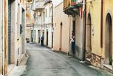 Cozy Sicilian street at Savoca village