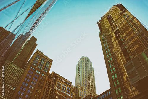 Skyscrapers in Midtown Manhattan NY