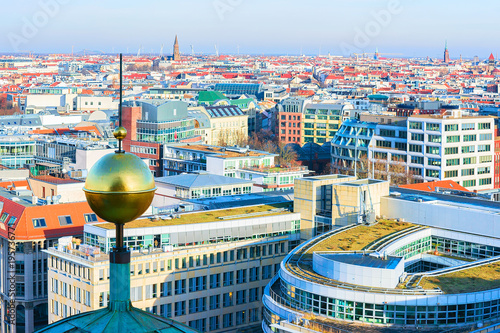 Papiers peints Berlin Cityscape of Berlin with Steeple of Berliner Dom Cathedral
