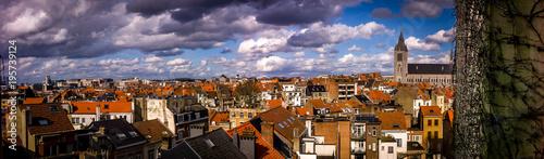 Deurstickers Brussel by my window