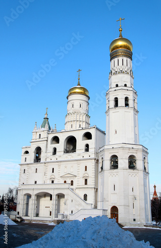 Aluminium Moskou Photo Bells of Ivan the Great in the Moscow Kremlin