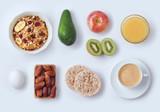 Healthy breakfast concept - 195757148