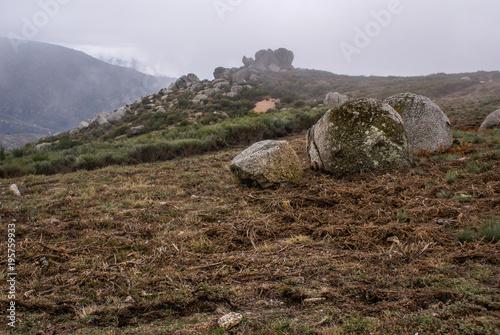 Foto op Canvas Diepbruine Serra da Estrela, Portugal