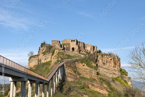 Fotobehang Landschappen Civita di Bagnoregio, Italy