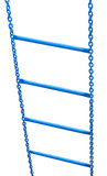 Hanging Ladder On The Chain  Wall Sticker