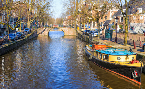 Foto op Canvas Amsterdam Canals of Amsterdam