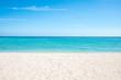Quadro Sommer, Sonne, Strand und Meer auf einer einsamen Insel in den Tropen