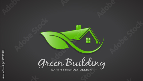 Eco Friendly Green House Logo Vector Design Buy Photos Ap