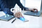 CPI. Consumer price index concept on virtual screen. - 195800588