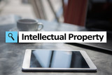 Intellectual property rights. Patent. Business, internet and technology concept. - 195800762