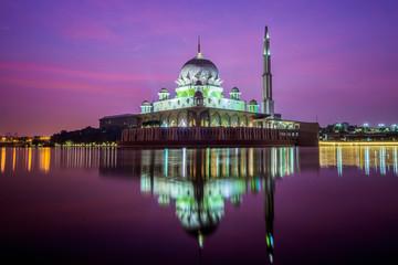 Mosque in Kuala lumpur city