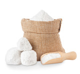 salt in bag and scoop - 195833310