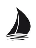 sailing logo design segeln boot schiff verein meer segelboot team crew - 195833521