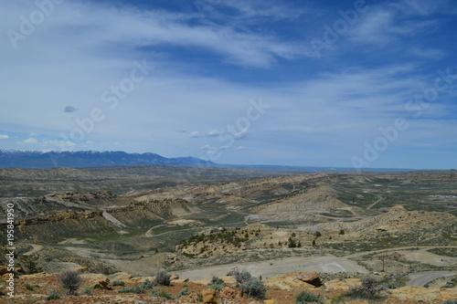 Fotobehang Khaki Wyoming