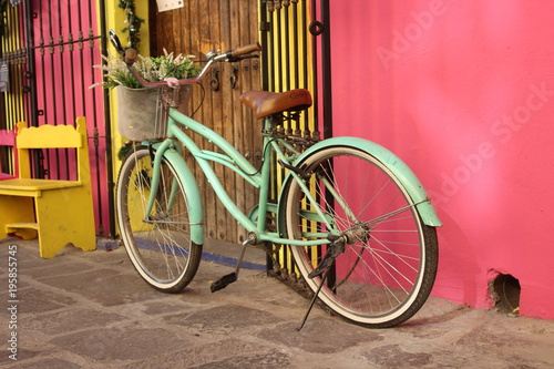 In de dag Fiets Fahrrad Deko