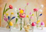Festive Easter table decoration