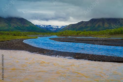 Dark grey National Parks of Alaska