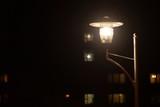 city streetlight in night - 195903198
