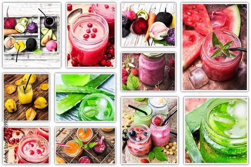 Papiers peints Jus, Sirop Healthy drink concept