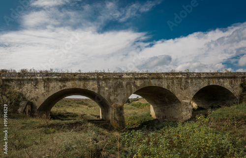 Aluminium Bruggen Stone arch bridge. Republic of Moldova.