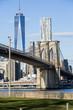 Brooklyn Bridge and Freedom Tower