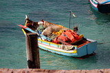 Bunte Fischerboote auf Malta