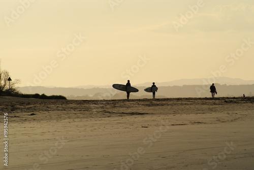 Staande foto Zee zonsondergang Beachscape Sunset