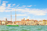 Picturesque summer view of Venice