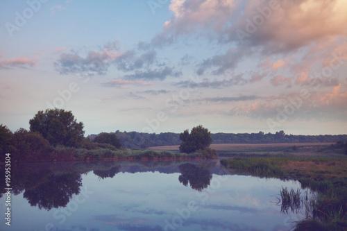 Aluminium Galyna A. Summer lake