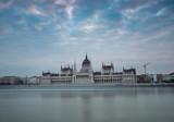 Dawn twilight shot of the Hungarian Parliament - 195970514