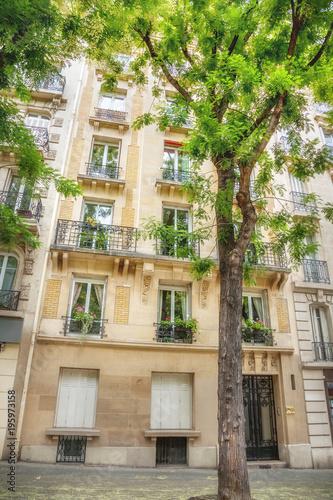 Fridge magnet Street in Paris