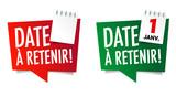 Date à retenir (Save the date) - 195973363