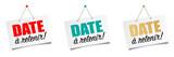 Date à retenir (Save the date) - 195973708