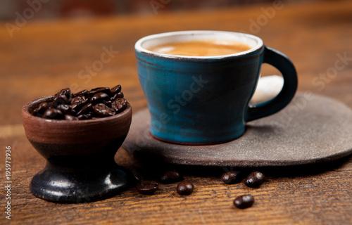 Poster espresso coffee bean