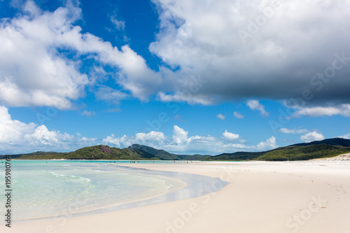 Fotobehang Tropical strand whitsunday islands australia